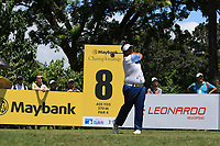 Kiradech Aphibarnrat (THA) in action on the 8th during Round 3 of the Maybank Championship at the Saujana Golf and Country Club in Kuala Lumpur on Saturday 3rd February 2018.<br /> Picture:  Thos Caffrey / www.golffile.ie<br /> <br /> All photo usage must carry mandatory copyright credit (© Golffile | Thos Caffrey)