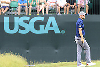 Bernd Wiesberger (AUT) on the 9th green during Saturday's Round 3 of the 117th U.S. Open Championship 2017 held at Erin Hills, Erin, Wisconsin, USA. 17th June 2017.<br /> Picture: Eoin Clarke | Golffile<br /> <br /> <br /> All photos usage must carry mandatory copyright credit (&copy; Golffile | Eoin Clarke)