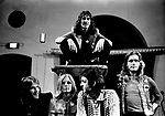 Wings 1972 Denny Seiwell, Linda McCartney, Denny Laine, Paul McCartney and Henry McCullough<br />&copy; Chris Walter