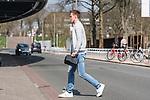 10.04.2018, Weserstadion, Bremen, GER, 1.FBL, Training SV Werder Bremen<br /> <br /> im Bild<br /> Niklas Moisander (Werder Bremen #18), <br /> <br /> Foto &copy; nordphoto / Ewert