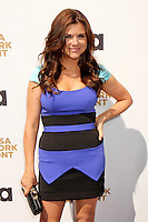 Tiffani Thiessen attends USA Network's 2012 Upfront Event at Lincoln Center's Alice Tully Hsll in New York, 17.05.2012.  Credit: Rolf Mueller/face to face /MediaPunch Inc. ***FOR USA ONLY***