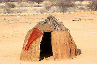Himba Mud Hut in Namibia