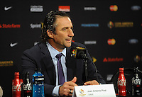 Philadelphia, PA - Tuesday June 14, 2016: Juan Antonio Pizzi during a Copa America Centenario Group D match between Chile (CHI) and Panama (PAN) at Lincoln Financial Field.