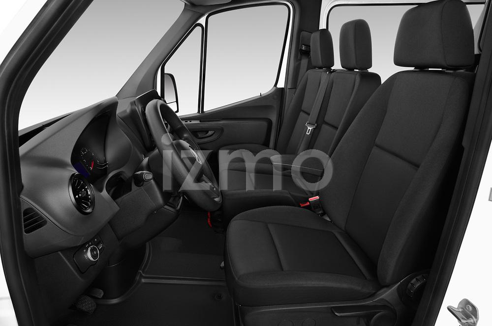 Front seat view of a 2019 Mercedes Benz Sprinter Base 4 Door Combi front seat car photos