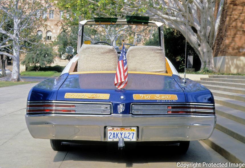 Cars: Philip Garner Nautical Buick, Flying Bridge. UCLA Symposium 1988.