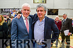 Jimmy Deenihan and Billy Keane at the Kerry General Election Count in Killarney.