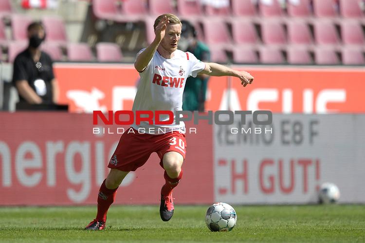 nph00351: Florian KAINZ (1.FC?KOELN),<br /> am Ball,Aktion.<br /> Sport: Fussball: 1. Bundesliga: Saison 19/20: 26.Spieltag: 1.FC KOELN-FSV MAINZ 05,17.05.2020.<br /> Foto: Anke Waelischmiller/SVEN SIMON/POOL / via Meuter/nordphoto<br /> <br /> Nur für journalistische Zwecke! Only for editorial use!<br /> Gemäß den Vorgaben der DFL Deutsche Fußball Liga ist es untersagt, in dem Stadion und/oder vom Spiel angefertigte Fotoaufnahmen in Form von Sequenzbildern und/oder videoähnlichen Fotostrecken zu verwerten bzw. verwerten zu lassen. DFL regulations prohibit any use of photographs as image sequences and/or quasi-video.