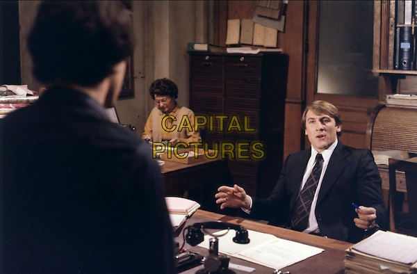 Gerard Depardieu<br /> in My American Uncle (1980) <br /> (Mon oncle d'Amerique)<br /> *Filmstill - Editorial Use Only*<br /> CAP/FB<br /> Image supplied by Capital Pictures