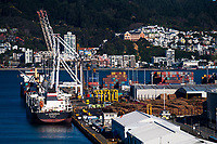 Site operations at CentrePort in Wellington, New Zealand on Thursday, 26 July 2018. Photo: Dave Lintott / lintottphoto.co.nz
