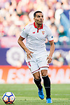 Gabriel Mercado of Sevilla FC in action during their La Liga match between Atletico de Madrid and Sevilla FC at the Estadio Vicente Calderon on 19 March 2017 in Madrid, Spain. Photo by Diego Gonzalez Souto / Power Sport Images