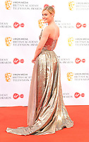 Camilla Kerslake at the British Academy (BAFTA) Television Awards 2019, Royal Festival Hall, Southbank Centre, Belvedere Road, London, England, UK, on Sunday 12th May 2019.<br /> CAP/CAN<br /> &copy;CAN/Capital Pictures