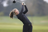 Lena Hassert (Germany) during the second round of the Irish Girls' Open Stroke Play Championship, Roganstown Golf Club, Swords, Ireland. 14/04/2018.<br /> Picture: Golffile | Fran Caffrey<br /> <br /> <br /> All photo usage must carry mandatory copyright credit (&copy; Golffile | Fran Caffrey)