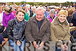 Mary McCarthy James Mangan and Kathleen Griffin pictured at Ballyheigue Pattern day on Sunday.