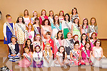 Rosebuds pictured at the Carlton Hotel at the Rose of Tralee on Friday.