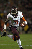 20 October 2005:.The Virginia Tech Hokies defeated the Maryland Terrapins 28-9 at Byrd Stadium in College Park, MD.