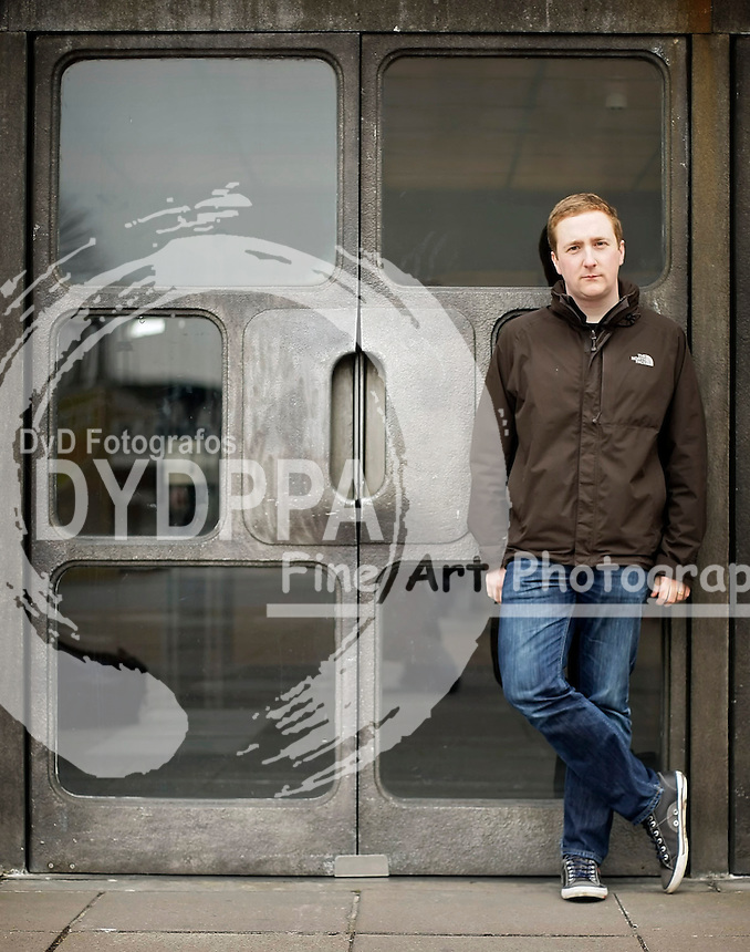Richard Slaney, The London Philharmonia Orchestra's Head of Digital, is pictured in London, March 2012. Photo by Shaun Curry/i-Images/ DyD Fotografos