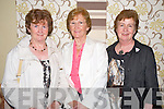 Enjoying the Kerry Parents and Friends fashion show in the Malton hotel, Killarney on Tuesday night were Maura O'Sullivan, Joan Fogarty and Alice O'Neill, Killarney.