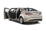 Car images of 2017 Ford Fusion-Hybrid Hybrid-SE 4 Door Sedan Doors