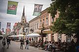 SERBIA, Novi Sad, Cafes in Novi Sad, Eastern Europe