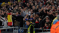 Picture: Andrew Roe/AHPIX LTD, Football, Barclays Premier League, Manchester City v Swansea City, 22/11/14, Etihad Stadium, K.O 3pm<br /> <br /> Swansea's fans<br /> <br /> Andrew Roe>>>>>>>07826527594