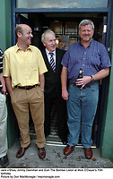 Jack o'Shea, Jimmy Deenihan and Eoin The Bomber Liston at Mick O'Dwyer's 70th birthday.<br /> Picture by Don MacMonagle / macmonagle.com