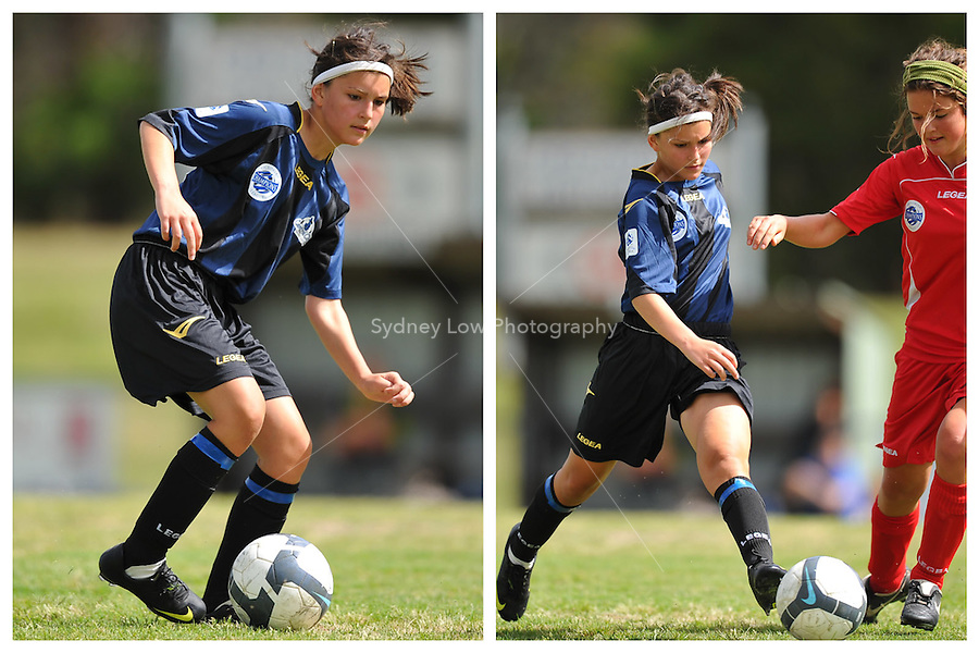 MELBOURNE, AUSTRALIA - November 28: Round 8 of the Victorian Champions League between Central City FC and Eastern FC at Dorset Recreational Reserve on 28 November 2009, Australia. Photo Sydney Low www.syd-low.com