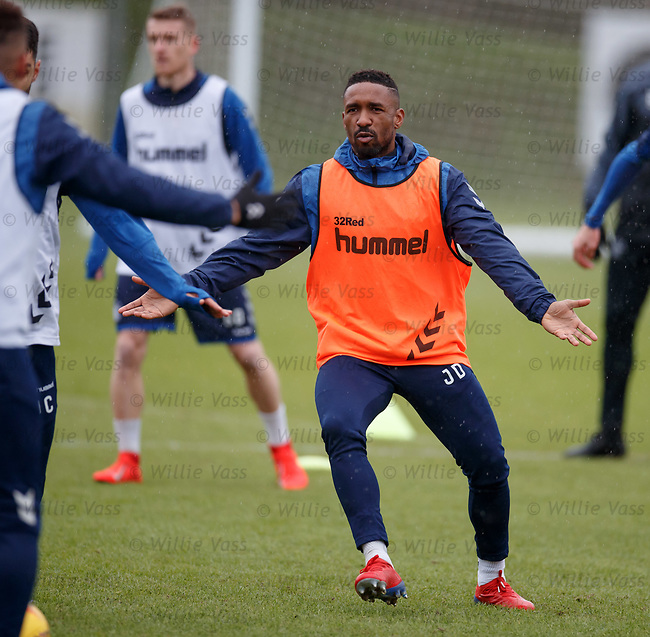 05.02.2019: Rangers training: Jermain Defoe