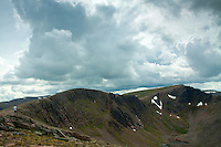 The Northern Corries, Stob Coire an Lochain and Cairn Lochain from beneath Cairn Gorm, Cairngorm National Park, Badenoch & Speyside