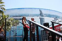 Donna Feldman<br /> at the 38th Annual Toyota Pro Celebrity Race,  Long Beach, CA 04-18-15<br /> David Edwards/Dailyceleb.com 818-249-4998