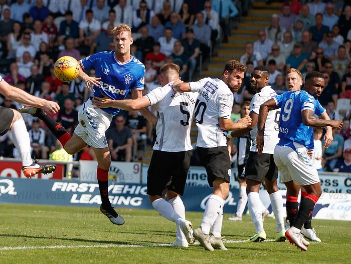 25.08.2019 St Mirren v Rangers: Filip Helander