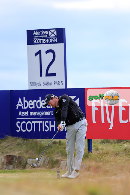 Graeme McDowell (NIR) during round 2 of the Aberdeen Asset Management Scottish Open 2016, Castle Stuart  Golf links, Inverness, Scotland. 08/07/2016.<br /> Picture Fran Caffrey / Golffile.ie<br /> <br /> All photo usage must carry mandatory copyright credit (&copy; Golffile | Fran Caffrey)