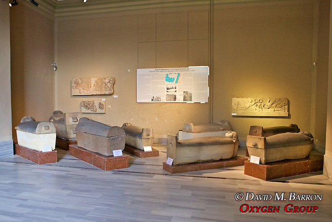 Sarcophagi , Istanbul Archaeology Museum