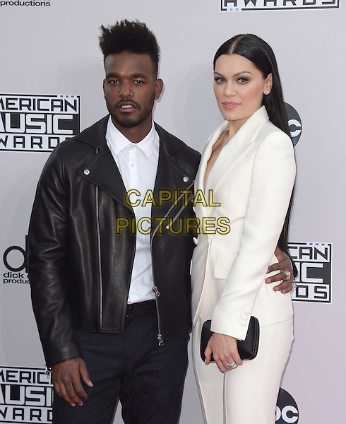 Luke James, Jessie J at The 2014 American Music Award held at The Nokia Theatre L.A. Live in Los Angeles, California on November 23,2014                                                                                <br /> CAP/RKE/DVS<br /> &copy;DVS/RockinExposures/Capital Pictures