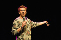 Joe Lycett performs at the Big C Comedy Gala, in aid of Macmillan Cancer Support, as part of the Edinburgh Festival Fringe.  Photograph © Jane Hobson.