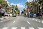 Passeig de Gr&agrave;cia is one of the major avenues in Barcelona, Spain and one containing several of the city's most celebrated pieces of architecture.<br />