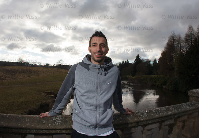 Kilmarnock's Rui Miguel at today's press conference