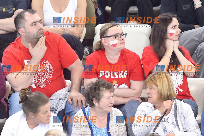 POLAND fans <br /> 400m Freestyle Men <br /> London, Queen Elizabeth II Olympic Park Pool <br /> LEN 2016 European Aquatics Elite Championships <br /> Diving  <br /> Day 08 16-05-2016<br /> Photo Andrea Staccioli/Deepbluemedia/Insidefoto
