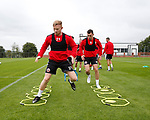 Mark Duffy of Sheffield Utd during the training session at the Shirecliffe Training complex, Sheffield. Picture date: June 27th 2017. Pic credit should read: Simon Bellis/Sportimage