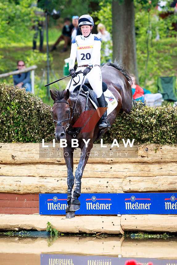 GBR-Nicola Wilson rides Bulana into 3rd position during the Cross Country for the CCI4* - Presented by DHL, at the 2017 Luhmühlen International Horse Trial. Saturday 17 June. Copyright Photo: Libby Law Photography