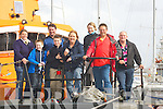 WALK ABOUT: Walking about on the Fenit Lifeboat at Fenit on Sunday in conjuction with the Fenit Regatta to raise funds for the RNLI, were, Killian casey, Darragh keehan, Ann McNamara, Mike Martin, Michael Casey, Emma Morrissy, Lay Corroidon and Denise Lynch.