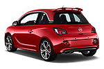 Car pictures of rear three quarter view of a 2017 Opel Adam S 3 Door Hatchback angular rear