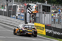 #27 Dan Cammish Halfords Yuasa Racing Honda Civic Type R (FK8) during BTCC Race 2  as part of the Dunlop MSA British Touring Car Championship - Brands Hatch 2018 at Brands Hatch, Fawkham, Longfield, Kent, United Kingdom. September 30 2018. World Copyright Peter Taylor/PSP. Copy of publication required for printed pictures.