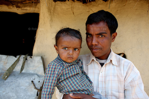 Hari Auji has also been waiting 10 years for land, but he prefers it here to his former home. &quot;In the mountains, we had to drink from a separate water tap and were not allowed in other people's houses,&quot; he explains. &quot;At feasts, we were made to eat separate food and sit outside. At least here we are living among our own people and so face less discrimination.&quot;<br /> <br /> Dhangadhi town in Far Western Nepal is one of the country's poorer and more isolated regions. It is home to many of Nepal's Dalits - the so-called &quot;untouchables&quot;, who are at the bottom of Nepal's strict caste-based system. As well as dealing with abject poverty, these people also have to cope with widespread discrimination by the rest of society, which is fiercest in underdeveloped rural areas. They have little access to services such as healthcare and education and routinely face abuse, from which they are often denied protection by the army and police. In some cases, it is the army and the police who abuse them.