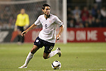 10 September 2008: Clint Dempsey (USA). The United States Men's National Team defeated the Trinidad and Tobago Men's National Team 3-0 at Toyota Park in Bridgeview, Illinois in a CONCACAF semifinal round FIFA 2010 South Africa World Cup Qualifier.