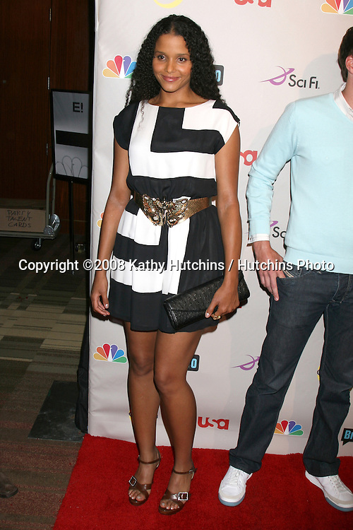 Sydney Tamiia Poitier   arriving at the NBC TCA Party at the Beverly Hilton Hotel  in Beverly Hills, CA on.July 20, 2008.©2008 Kathy Hutchins / Hutchins Photo .