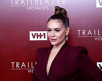 LOS ANGELES - FEB 20:  Alyssa Milano at VH1 Trailblazer Honors at the Wilshire Ebell Theatre on February 20, 2019 in Los Angeles, CA