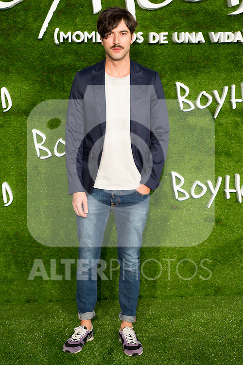 "attend the photocall of the Premiere of the movie ""Boyhood"" at the Cineteca in Madrid, Spain. September 09, 2014. (ALTERPHOTOS/Carlos Dafonte)"