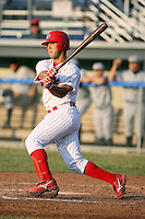July 8th, 2007:  Tony Cruz of the Batavia Muckdogs, Short-Season Class-A affiliate of the St. Louis Cardinals at Dwyer Stadium in Batavia, NY.  Photo by:  Mike Janes/Four Seam Images