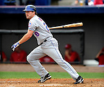 10 March 2011: New York Mets' infielder Daniel Murphy in action during a Spring Training game against the Washington Nationals at Space Coast Stadium in Viera, Florida. The Nationals edged out the Mets 6-5 in Grapefruit League play. Mandatory Credit: Ed Wolfstein Photo