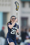 Santa Barbara, CA 02/18/12 - Madilynn McCleary (BYU #20) in action during the Arizona State vs BYU matchup at the 2012 Santa Barbara Shootout.  BYU defeated Arizona State 10-8.